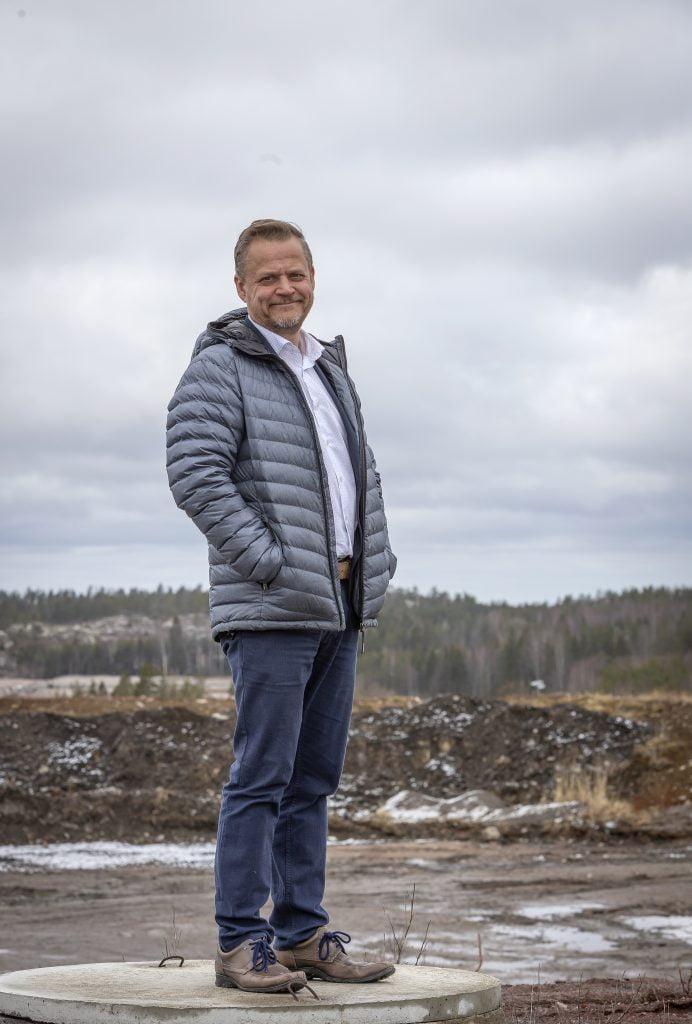 Lounais-Suomen Jätehuolto Oy:n toimitusjohtaja Jukka Heikkilä